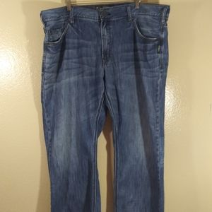 Silver ZAC Relaxed Fit Straight Leg Jeans 42x30